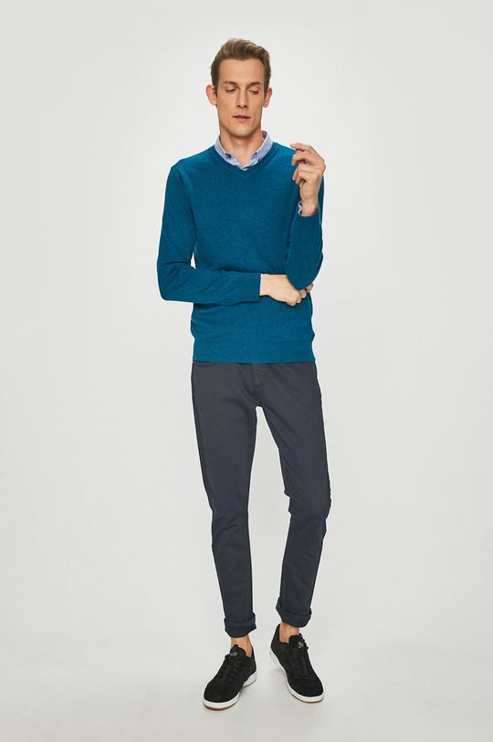 Medicine - Пуловер Basic зелено-син
