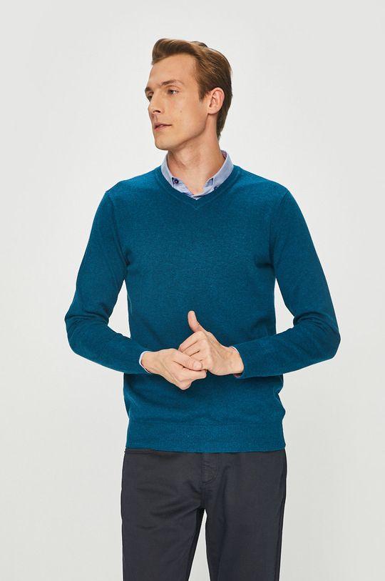 зелено-син Medicine - Пуловер Basic