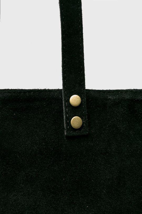 черен Medicine - Кожена чанта Vintage Revival