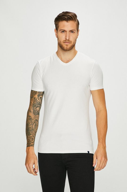 бял Medicine - Тениска Basic Чоловічий