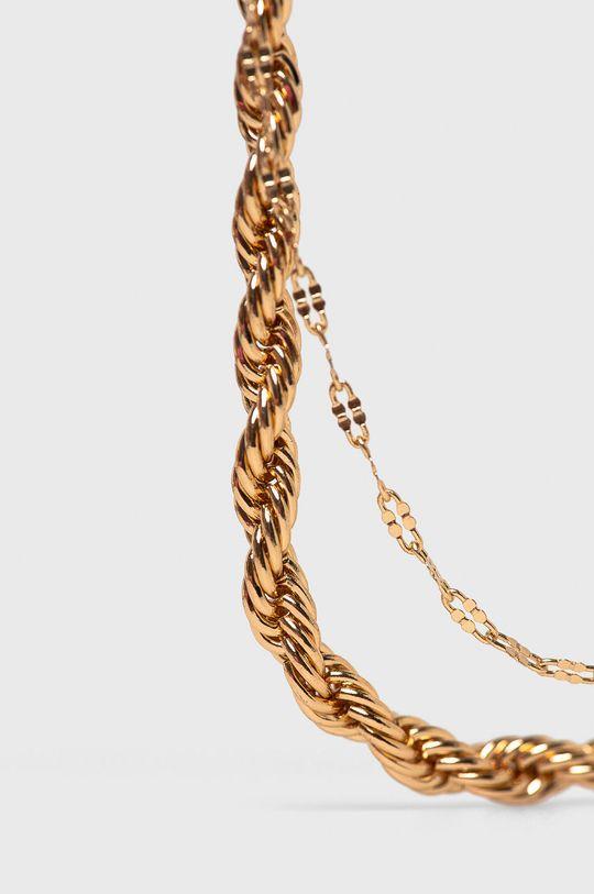 Medicine - Náramok Tapestry Stripes zlatá