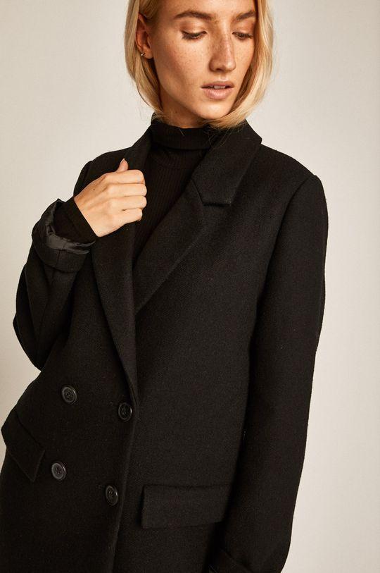 čierna Medicine - Kabát Artisanatura
