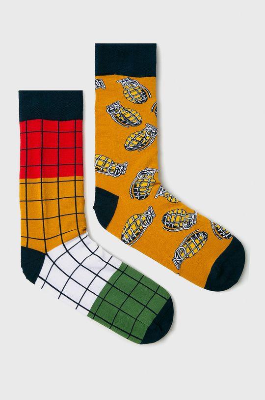 viacfarebná Medicine - Ponožky Basic (2-pak) Pánsky