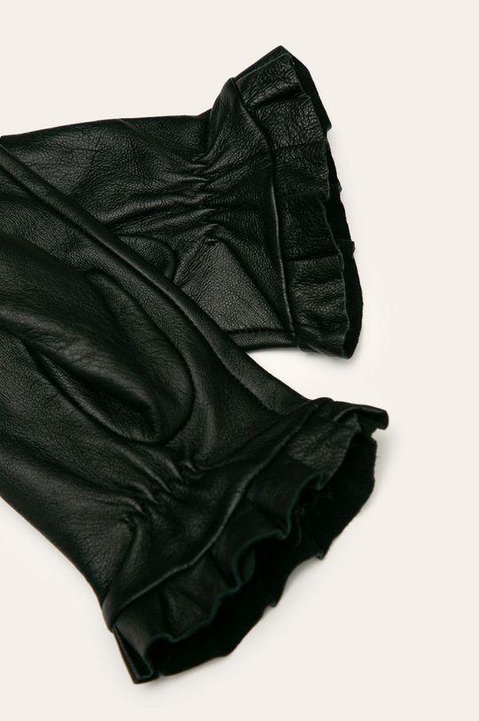 Medicine - Rękawiczki skórzane Amber Ambient czarny