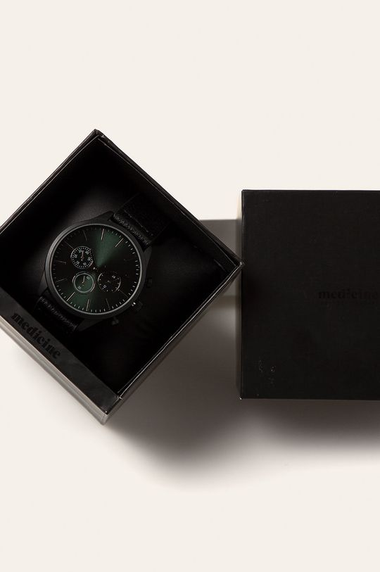 Medicine - Zegarek Basic  Cynk, Mosiądz, Plastik, Poliuretan, Stal nierdzewna, Szkło