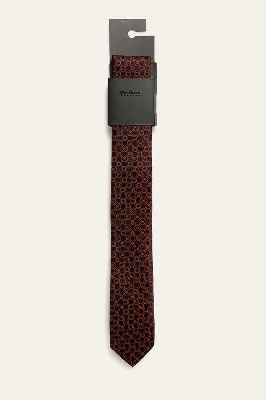 negru Medicine - Cravata Basic De bărbați