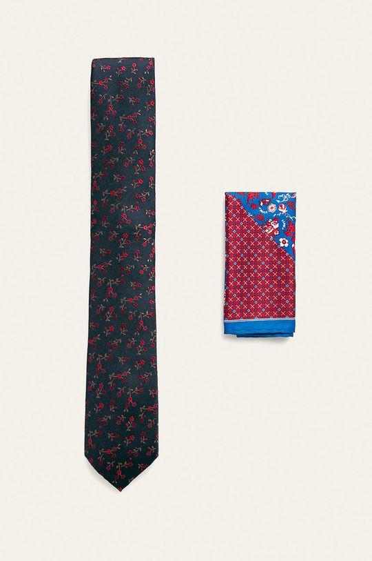 Medicine - Krawat i poszetka Basic  100 % Poliester