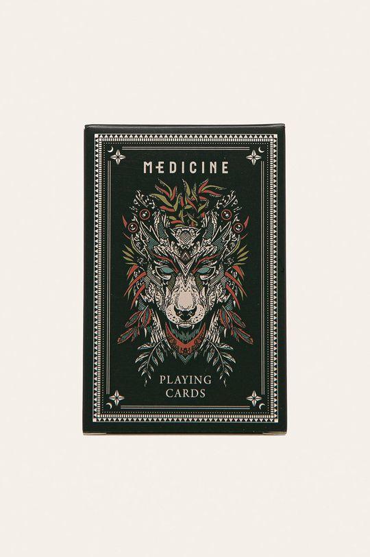 negru Medicine - Carti de joc Basic Unisex