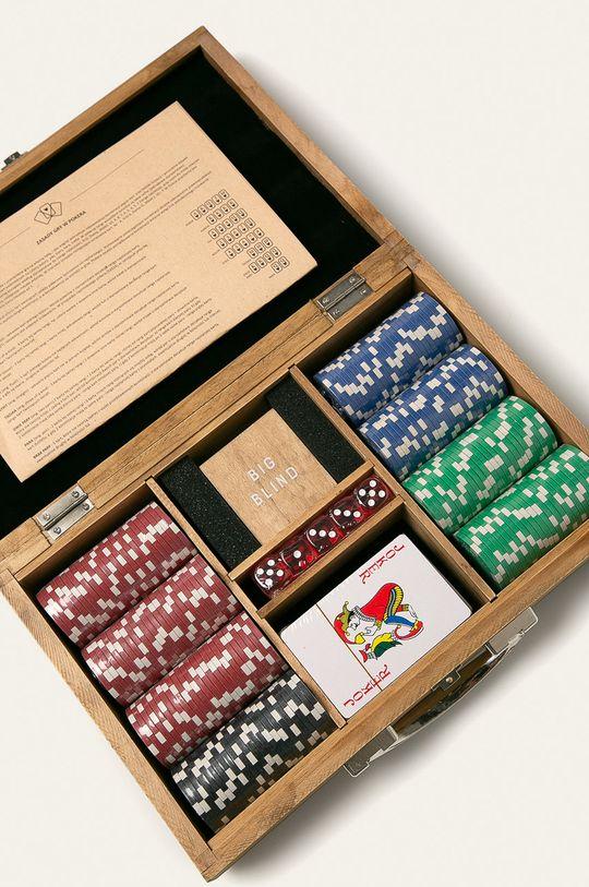 zlatohnědá Medicine - Hra poker Xmass Unisex