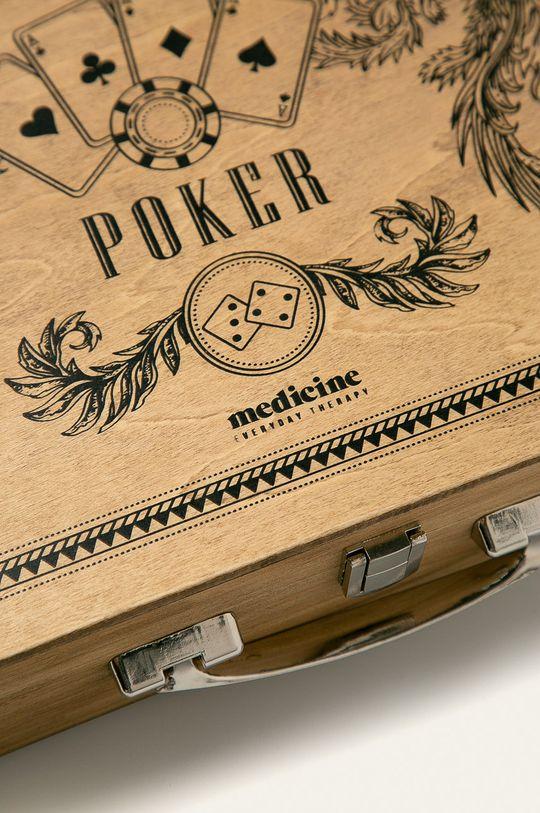 Medicine - Hra poker Xmass <p>4% Dřevo, 61% Kov, 7% Papír, 28% Plast</p>