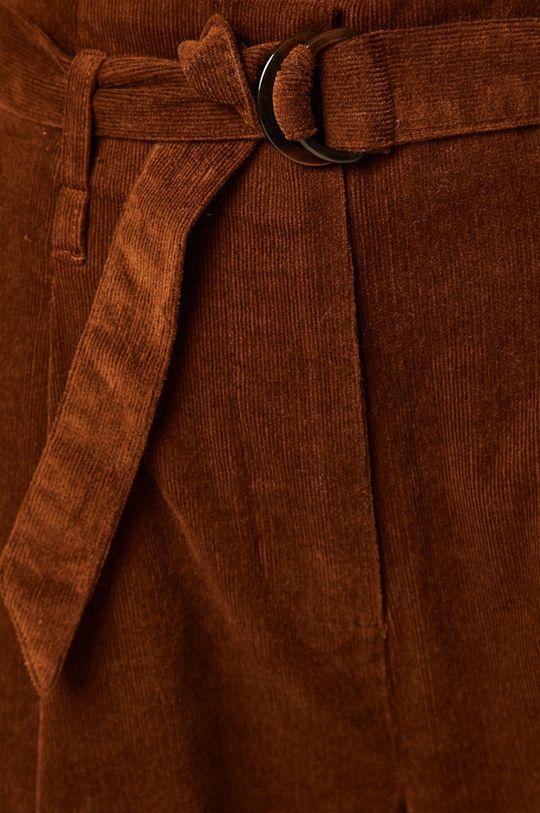 kaštanová Medicine - Kalhoty Artisanatura