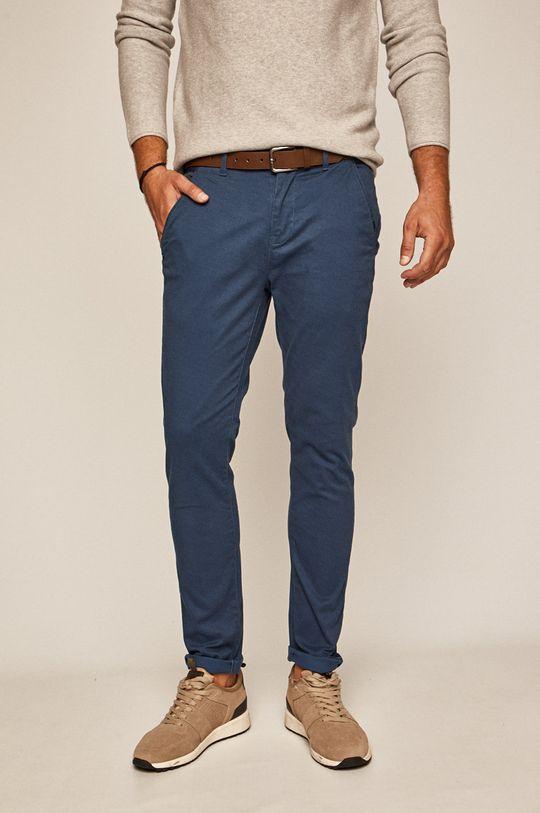 Medicine - Pantaloni Basic albastru metalizat