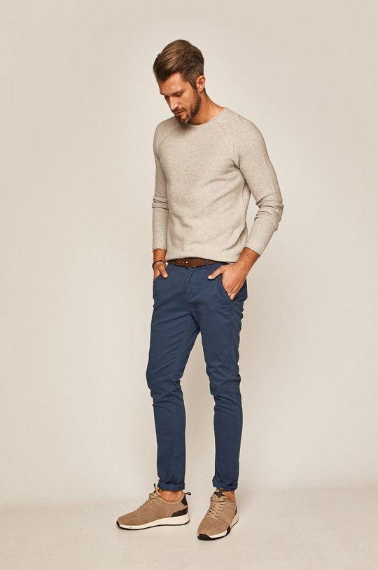 albastru metalizat Medicine - Pantaloni Basic De bărbați