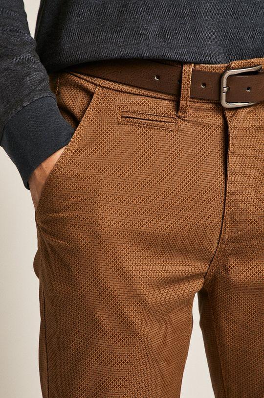 zlatohnědá Medicine - Kalhoty Basic