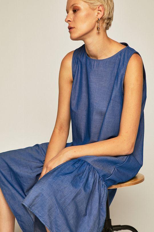 niebieski Medicine - Sukienka Tapestry Stripes Damski