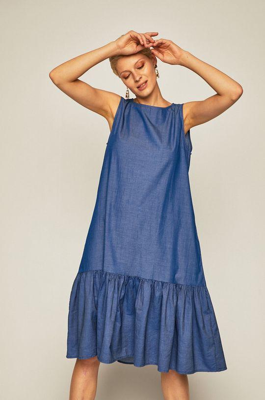 niebieski Medicine - Sukienka Tapestry Stripes