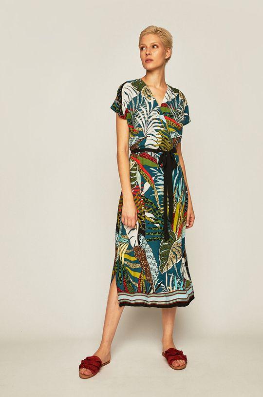 Medicine - Sukienka Tapestry Stripes czarny