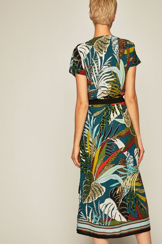 Medicine - Sukienka Tapestry Stripes  100 % Wiskoza