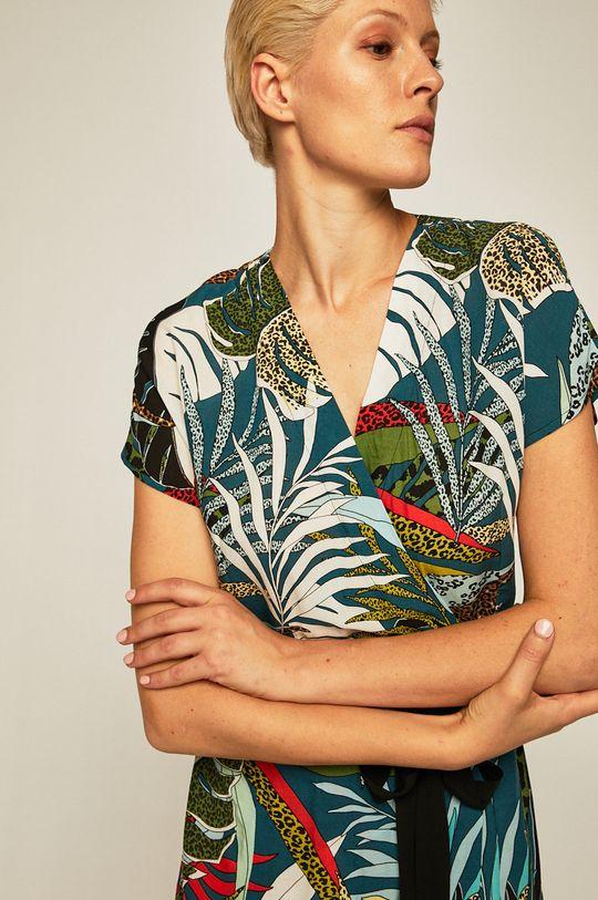 czarny Medicine - Sukienka Tapestry Stripes