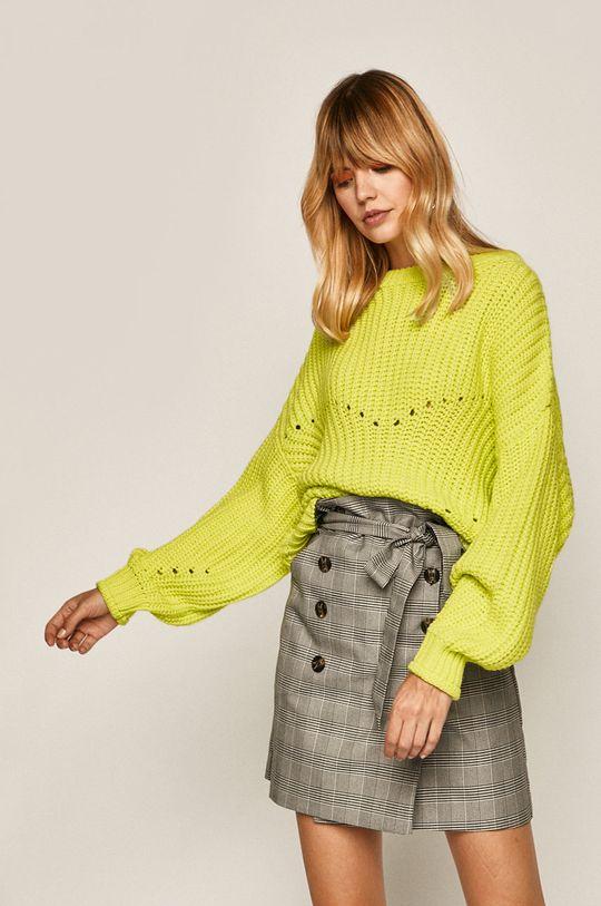 żółto - zielony Medicine - Sweter Sheroism Damski