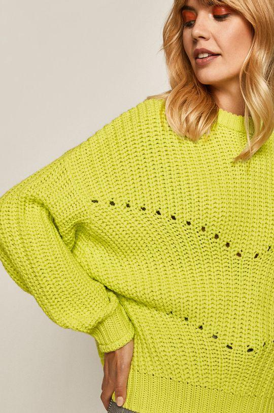 żółto - zielony Medicine - Sweter Sheroism