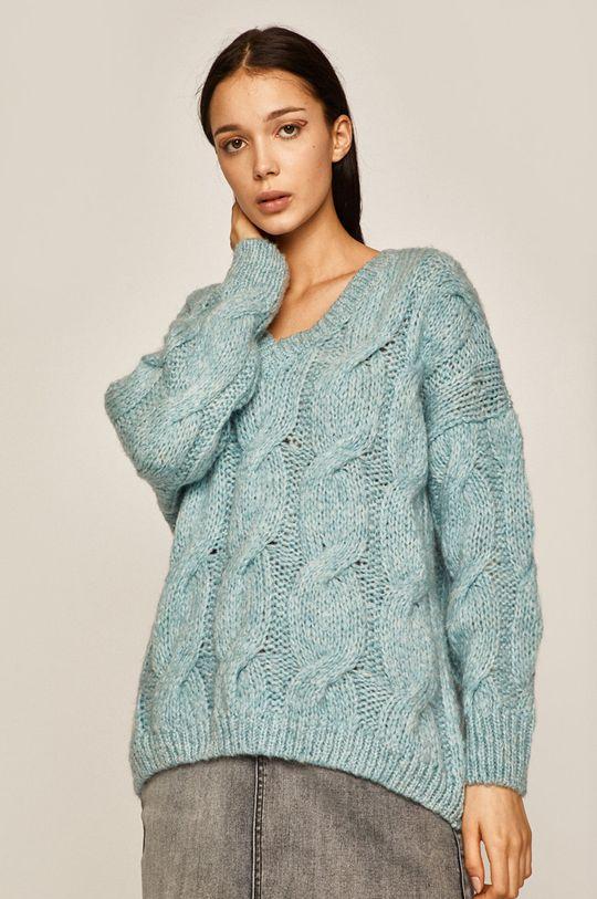 Medicine - Sweter Amber Ambient jasny niebieski