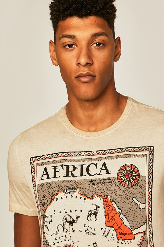 smetanová Medicine - Tričko Out Of Africa Pánský