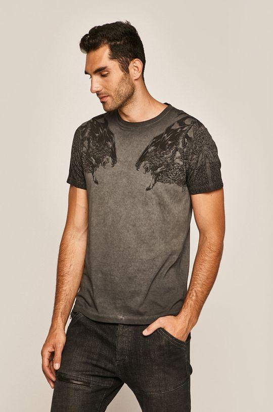 sivá Medicine - Pánske tričko Rural Vitality Pánsky