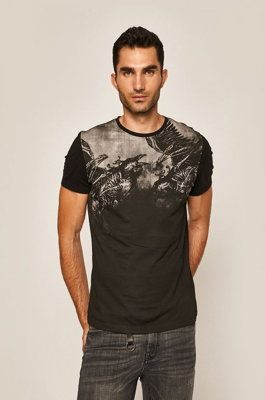 čierna Medicine - Pánske tričko Rural Vitality Pánsky