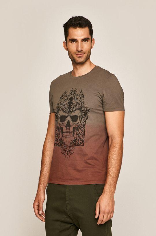 Medicine - Pánske tričko Rural Vitality hnedá