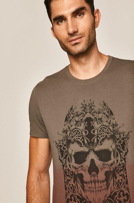 hnedá Medicine - Pánske tričko Rural Vitality