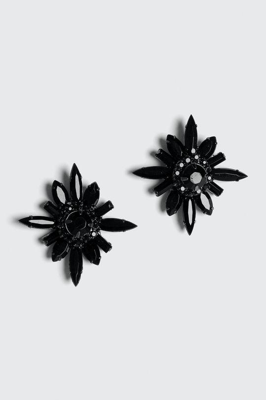 Medicine - Náušnice Basic černá