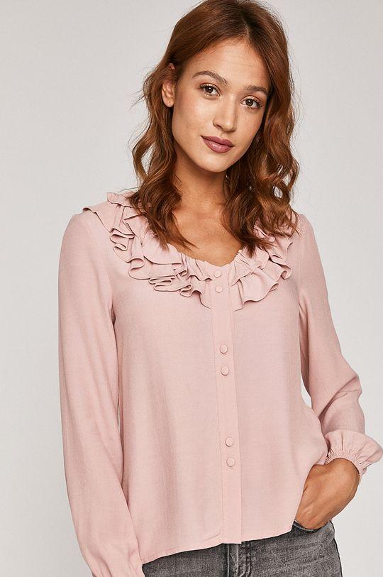 roz pastelat Medicine - Bluza Pale Femininity De femei
