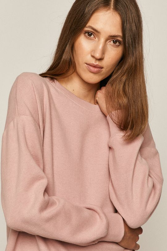 roz pastelat Medicine - Bluza Comfort Zone