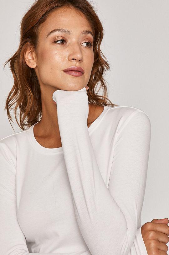 biela Medicine - Tričko s dlhým rukávom Basic Dámsky
