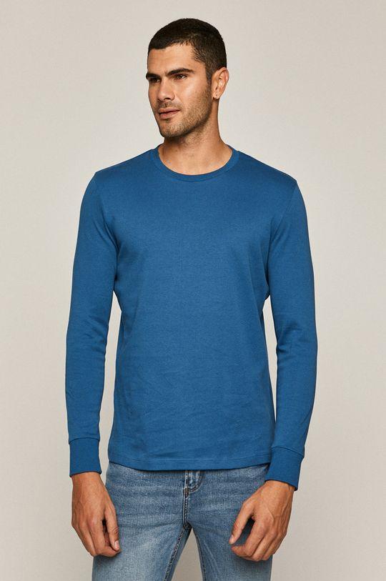 modrá Medicine - Tričko s dlhým rúkavom Basic Pánsky