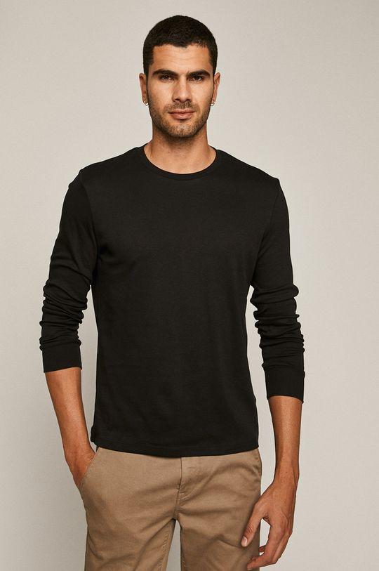 čierna Medicine - Tričko s dlhým rukávom Basic