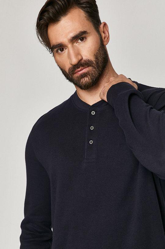 námořnická modř Medicine - Tričko s dlouhým rukávem Comfort Zone Pánský