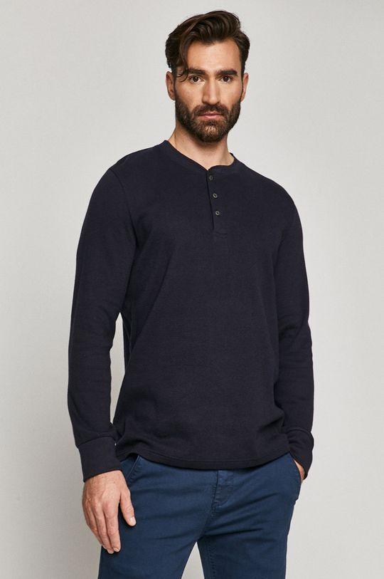 námořnická modř Medicine - Tričko s dlouhým rukávem Comfort Zone