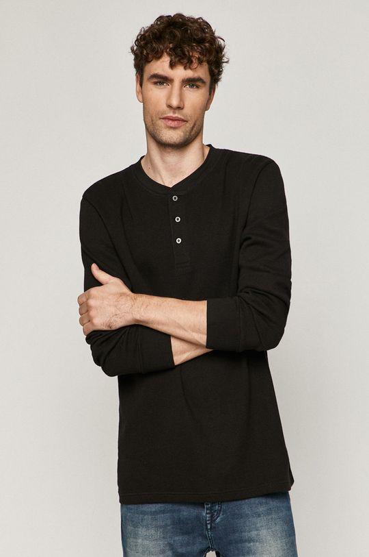 černá Medicine - Tričko s dlouhým rukávem Comfort Zone Pánský