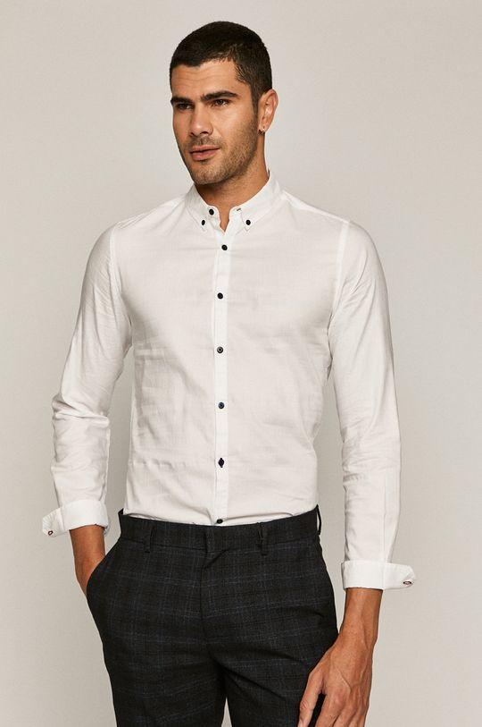 biały Medicine - Koszula bawełniana Basic Męski