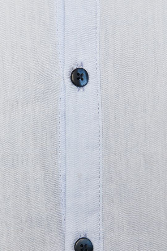 Medicine - Koszula bawełniana Basic blady niebieski
