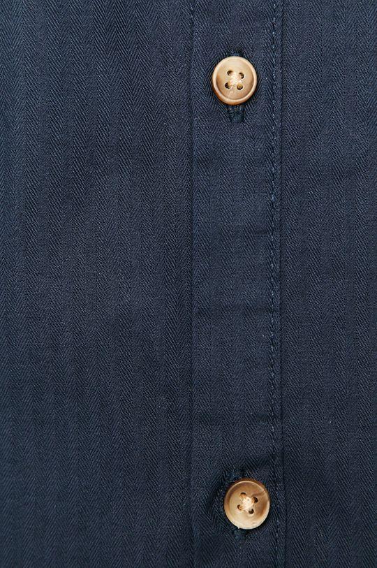 Medicine - Bavlnená košeľa Basic tmavomodrá