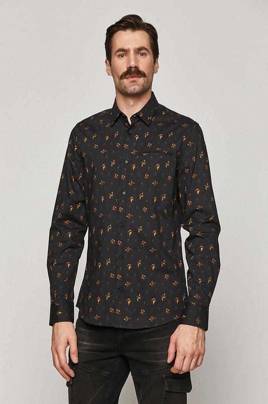 černá Medicine - Košile Basic Pánský
