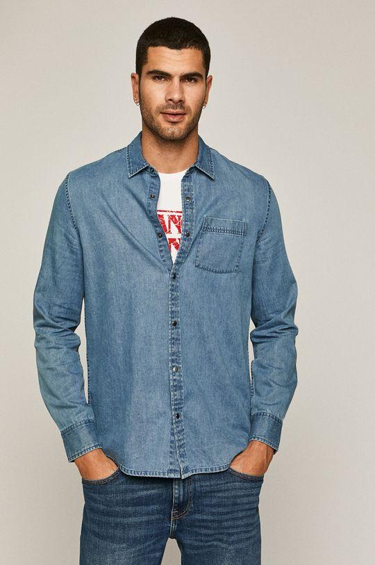 niebieski Medicine - Koszula jeansowa Simplicity Interrupted Męski