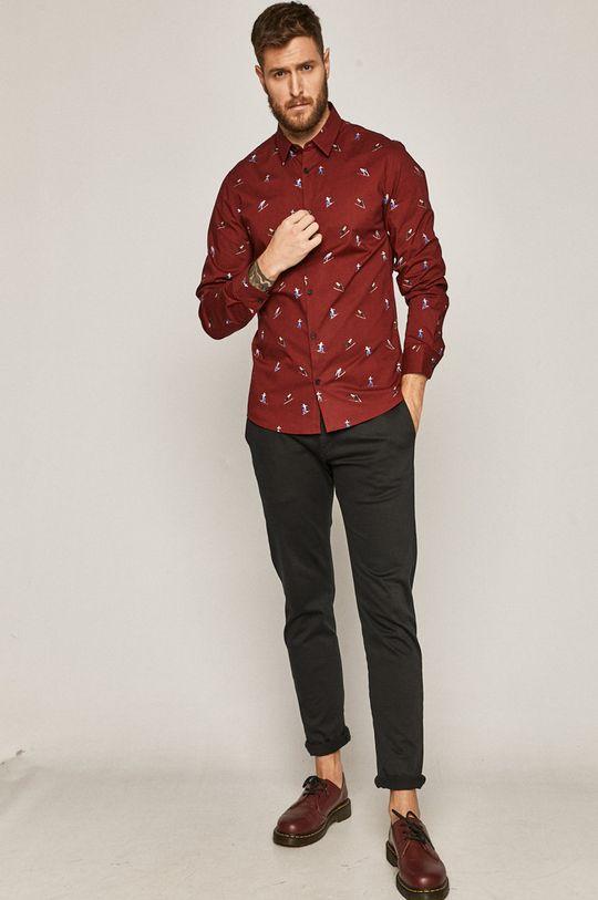 kaštanová Medicine - Košile Basic
