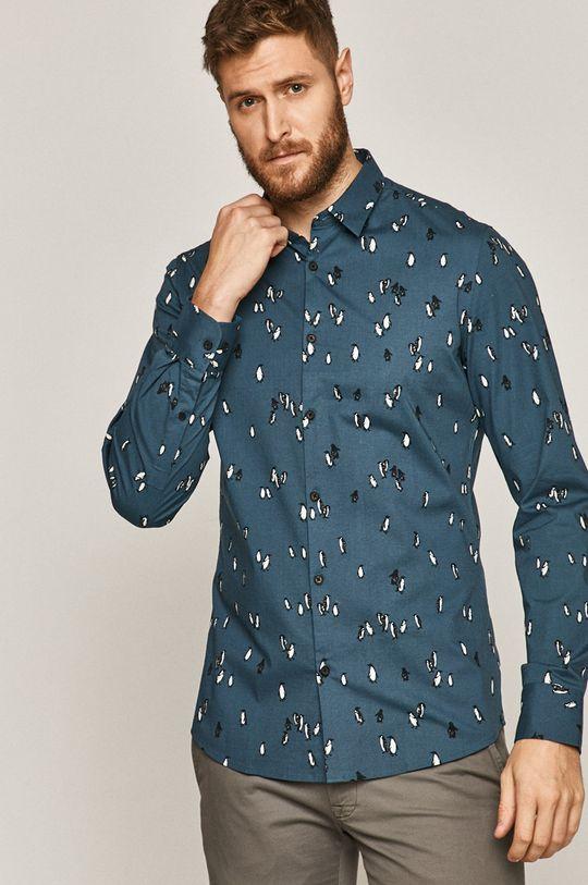 Medicine - Košile Basic ocelová modrá