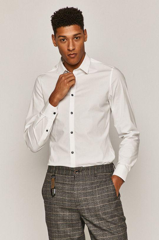 biały Medicine - Koszula Lux Black Męski