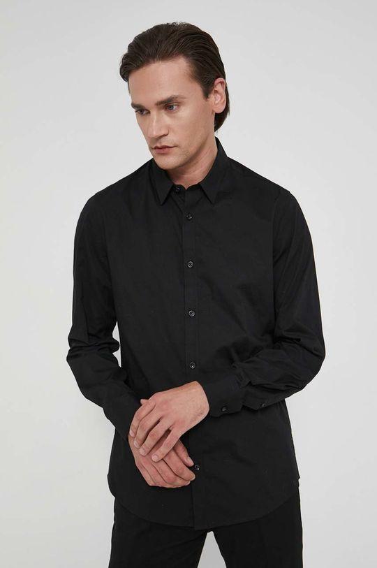 czarny Medicine - Koszula Lux Black