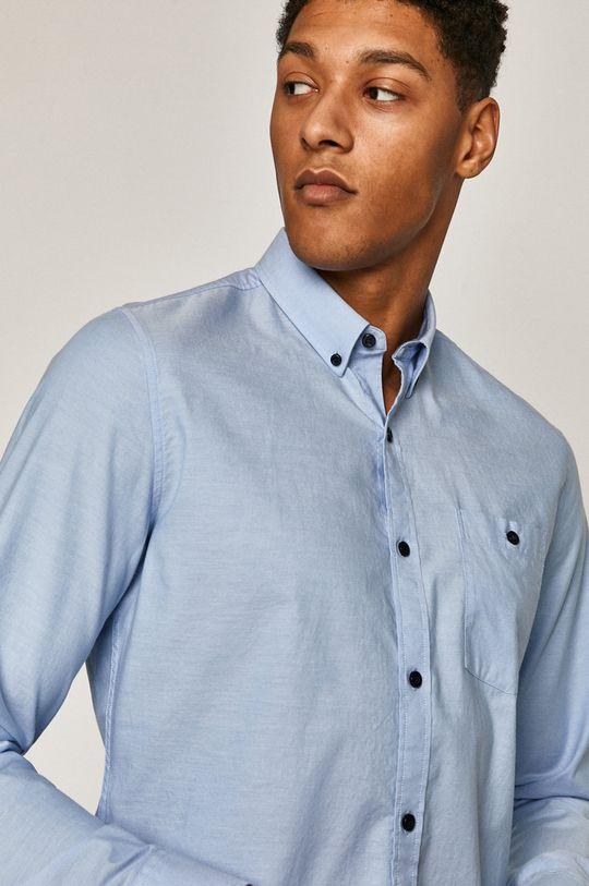 světle modrá Medicine - Bavlněná košile Classic Gatteway Pánský